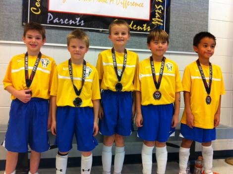 U9/U10 2nd Place Finish in 2012 Joplin Futsal Tournament