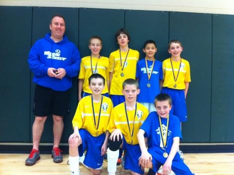 2013 Futsal Champs U11
