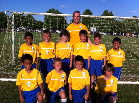 2013 U9 Boys Yellow Spring