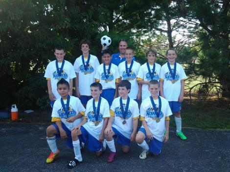 U12 Boys Yellow 2013 NORCO w