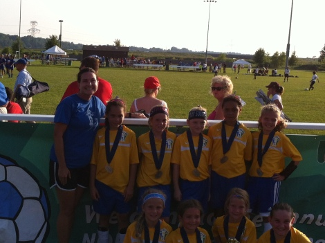 U9 Girls 2nd place 2013 NORCO