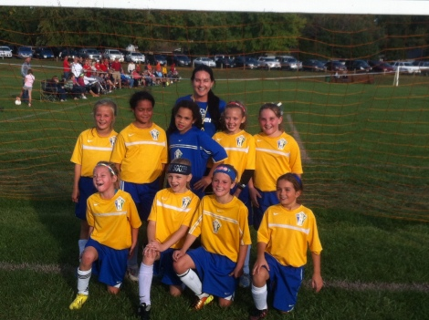 U9 Girls Yellow Fall Champs